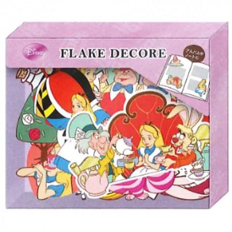 Pegatinas Flake Decore Alice
