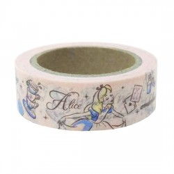 Washi Tape Alice Tea Time