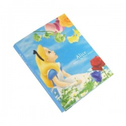 Livro Post-Its Alice in Wonderland
