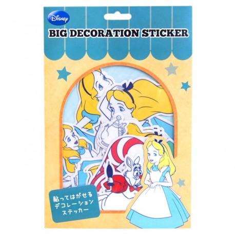 Alice in Wonderland Big Deco Stickers