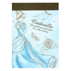 Cinderella Dream Mini Memo Pad