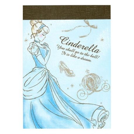 Cinderella Dream Mini Memo Pad