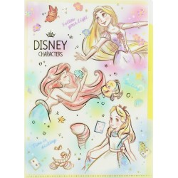 Prism Garden Disney Characters Index File Folder
