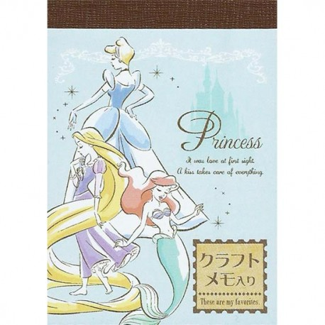 Disney Princesses Mini Memo Pad