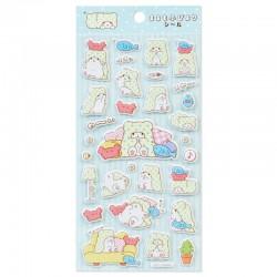 Marumofubiyori Puffy Stickers