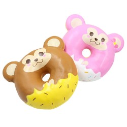 Squishy Cheeki Monkey Animal Donut
