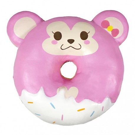 Cheeki Monkey Animal Donut Squishy