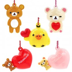 Colgante Rilakkuma Heart LED Gashapon