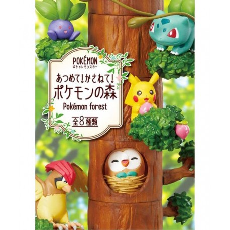 Re-Ment Pokémon Forest