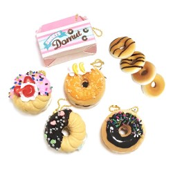 Pendente Donut Sweets Squeeze Gashapon