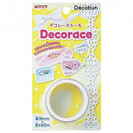 Deco Tape Hearts Lace