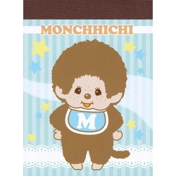 Mini Bloco Notas Monchhichi Baby Boy