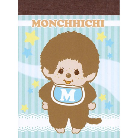 Monchhichi Baby Boy Mini Memo Pad