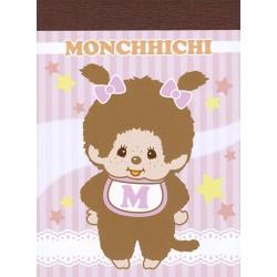 Mini Bloco Notas Monchhichi Baby Girl