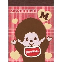 Mini Bloco Notas Monchhichi Boy