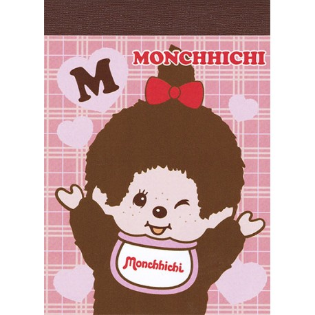 Monchhichi Girl Mini Memo Pad