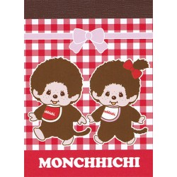 Mini Bloco Notas Monchhichi Boy & Girl