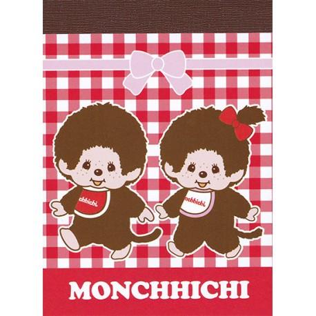 Monchhichi Boy & Girl Mini Memo Pad