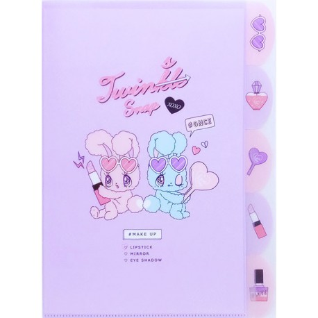 Twins Snap Index File Folder
