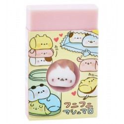 Marshmallow Animals Die-Cut Eraser