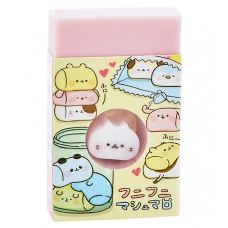 Animal Marshmallows Die-Cut Eraser