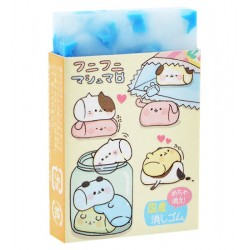 Animal Marshmallows Starry Eraser
