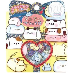 Animal Marshmallows Cookie Jar Stickers Sack