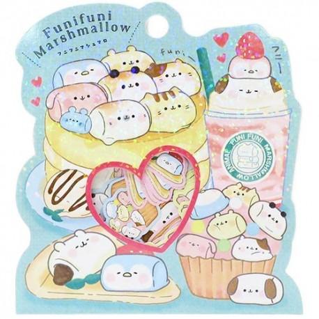 Bolsa Pegatinas Marshmallow Animals Pancake