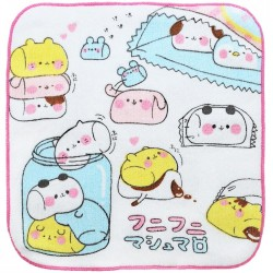 Marshmallow Animals Mini Towel