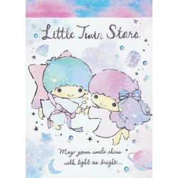 Little Twin Stars Diamonds Mini Memo Pad