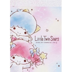 Mini Bloco Notas Little Twin Stars Celestial