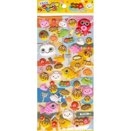 Konamon Festival Puffy Stickers