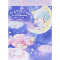 Mini Bloco Notas Little Twin Stars Cosmic Rainbow