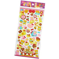 Stickers Puffy Cutie Sweets