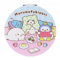 Marumofubiyori Friends Pocket Size Mirror