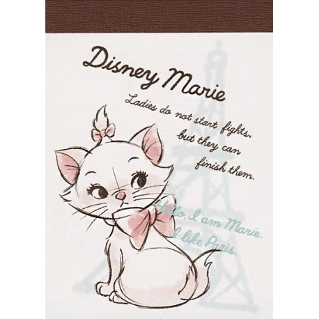 Marie Like Paris Mini Memo Pad