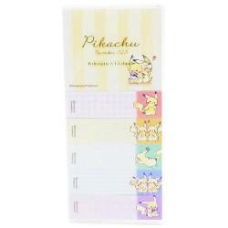 Notas Adhesivas Pikachu Best Friends