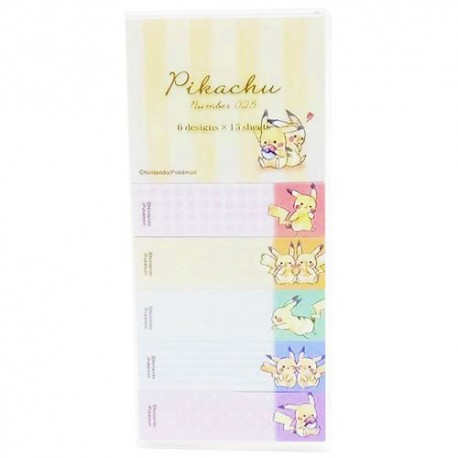 Pikachu Best Friends Sticky Notes
