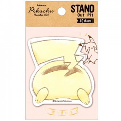 Pikachu Stand Out Pit Sticky Notes