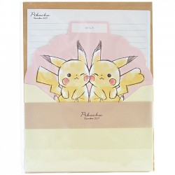 Pikachu Cheeky Letter Set