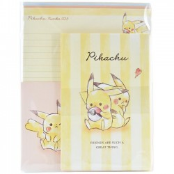 Pikachu Best Friends Letter Set