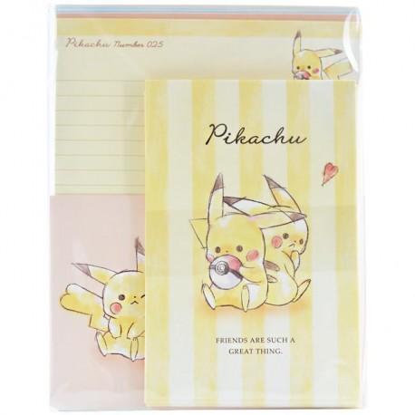 Pikachu Best Friends Letter Set