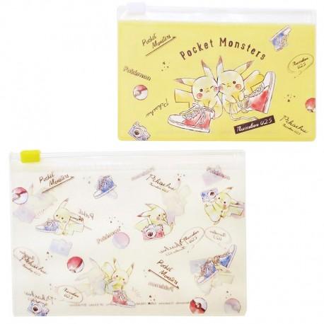 Pikachu Zippered Cases Set