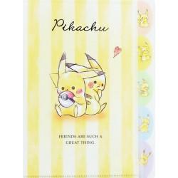 Carpeta Clasificadora Index Pikachu Best Friends