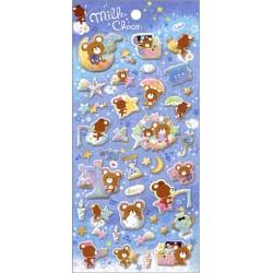 Stickers Puffy Milk Choco
