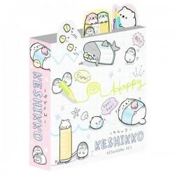 Livro Blocos Notas Keshikko Happy