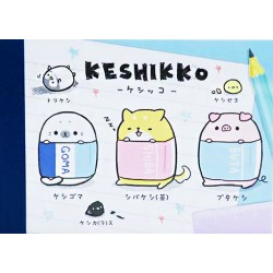 Mini Bloc Notas Keshikko Stars