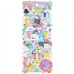 Keshikko Puffy Stickers