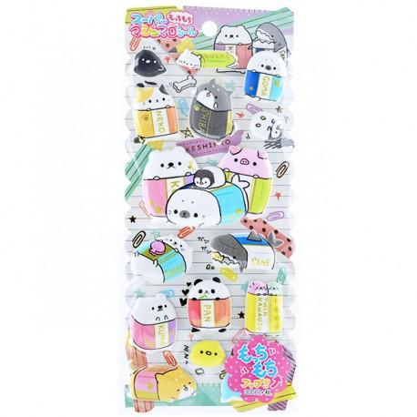 Keshikko Puffy Stickers
