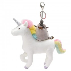 Pusheen Fancy Unicorn Deluxe Keychain
